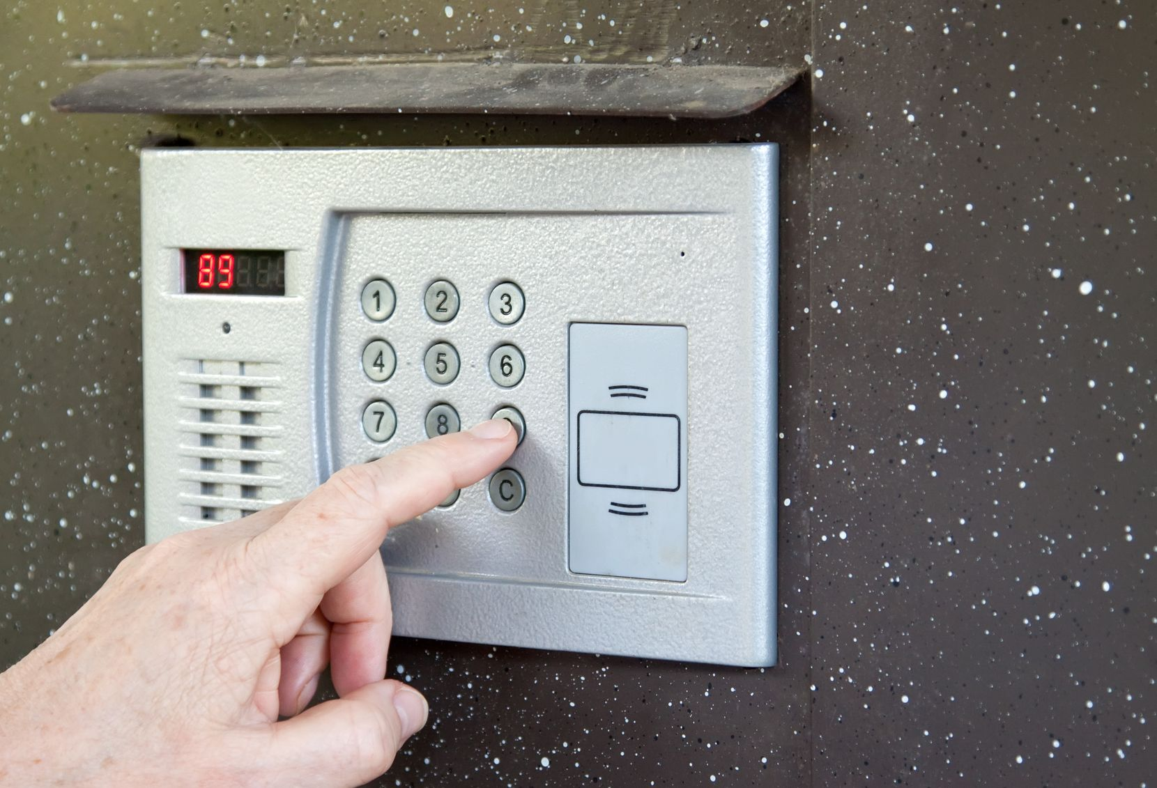 Alarmsysteem plaatsen