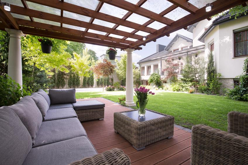 Tuin Met Overkapping : Terrasoverkapping of tuin overkapping maken de kosten weten